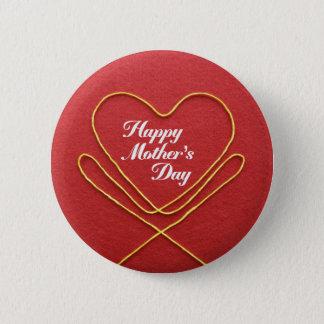 Mother #7 6 cm round badge