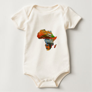 Mother Africa Baby Bodysuit