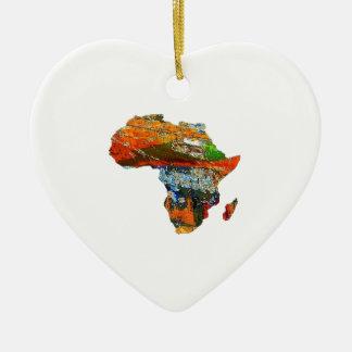 Mother Africa Ceramic Ornament