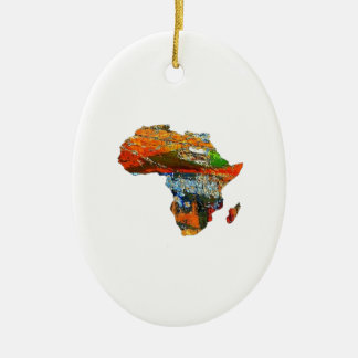 Mother Africa Ceramic Ornament