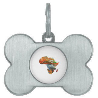 Mother Africa Pet ID Tag