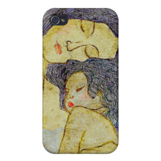 Mother and baby covers for iPhone 4
