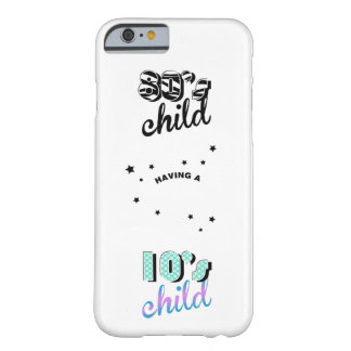 Mother and Baby Decades 1980s / 2010s Barely There iPhone 6 Case