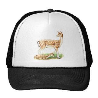 Mother and Baby Deer Trucker Hat