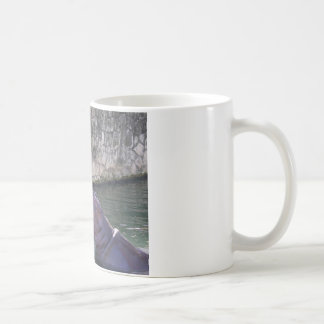 Mother and Baby Hippo Greeting Basic White Mug