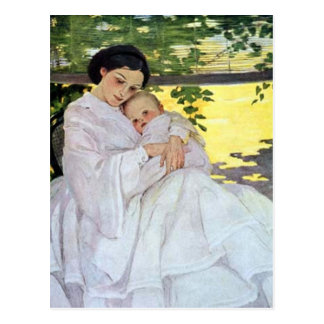 Mother and Baby Postcard