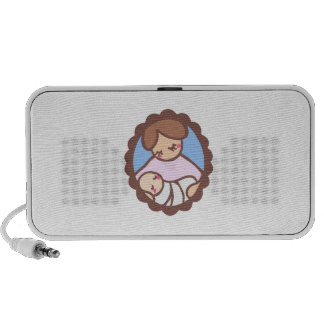 MOTHER AND BABY iPhone SPEAKER