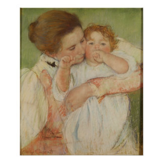 Mother and Child, 1897 Poster