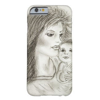 Mother and child barely there iPhone 6 case