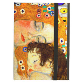 Mother and Child by Gustav Klimt Art Nouveau iPad Air Cover