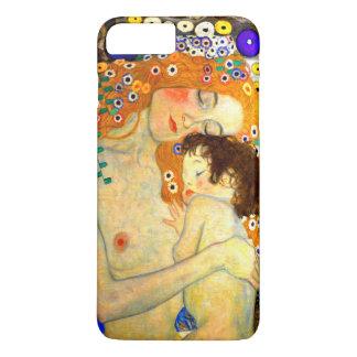Mother and Child by Gustav Klimt Art Nouveau iPhone 7 Plus Case