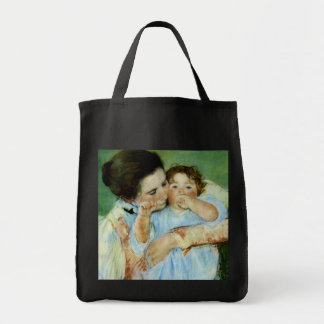 Mother and Child by Mary Cassat Tote Bag
