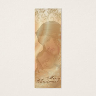 Mother and Child Collage Christmas Gift Tags