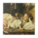 Mother and Child, Leighton, Vintage Victorian Art