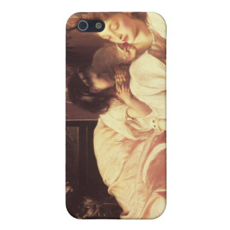 Mother and Child - Lord Frederick Leighton iPhone 5 Cases