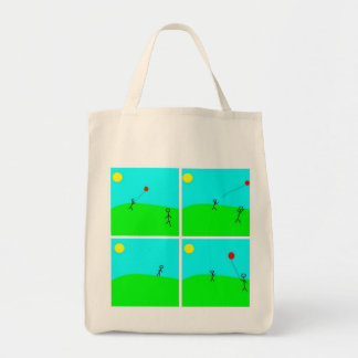 Mother and Child Organic Grocery Bag