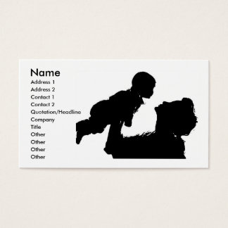 Mother And Child Profile Card