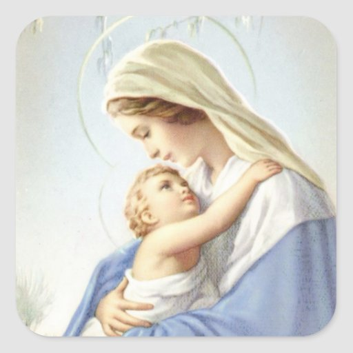 Mother and Child Sticker