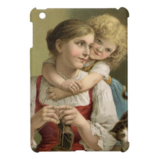 Mother and Child- Vintage Mother's Day Cover For The iPad Mini