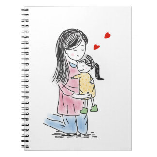Mother and Daughter Notebook
