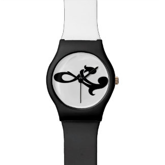 Mother and daughter watch