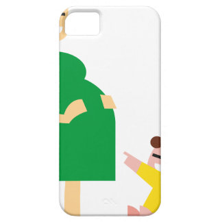 Mother and Kid iPhone 5 Cover