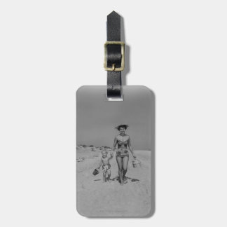 Mother and Son Bag Tag