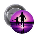 Mother and son Child Beach Jumping Badges
