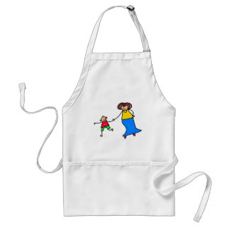 Mother And Son Standard Apron