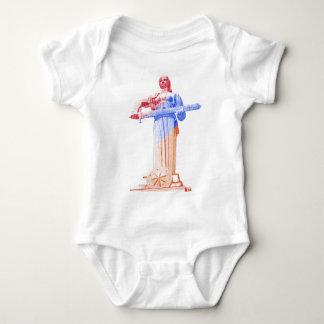 Mother Armenia Baby Bodysuit
