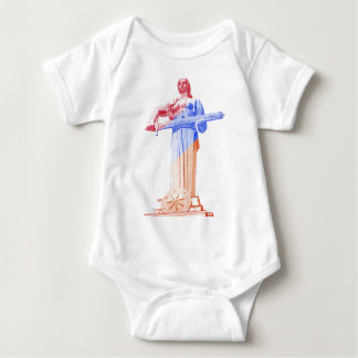 Mother Armenia, Proud Armenian Women (in Armenian) Baby Bodysuit