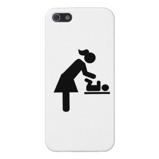Mother baby diaper iPhone 5 cases