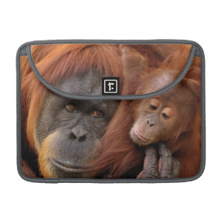 Mother & Baby Orangutan Sleeve For MacBook Pro