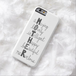 MOTHER BARELY THERE iPhone 6 CASE