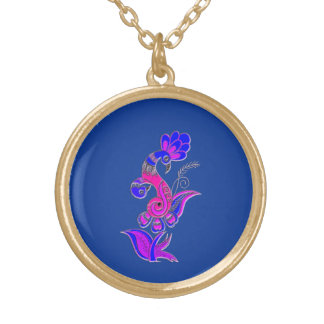 Mother Bird Gold Plated Necklace