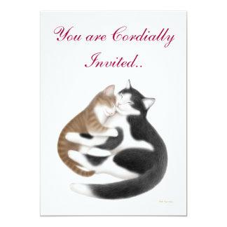 Mother Cat Customizable Invitation
