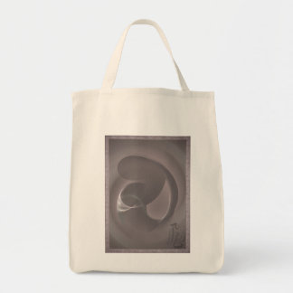 Mother & Child Grocery Tote Bag