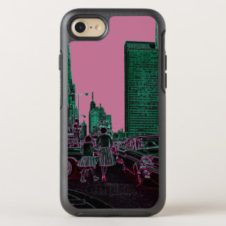 Mother Daughter Shopping Michigan Ave Chicago 1961 OtterBox Symmetry iPhone 8/7 Case