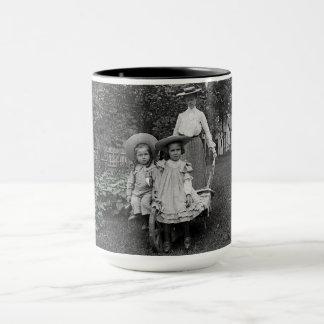 Mother Daughters 1890 Heirloom Gardening Garden Mug
