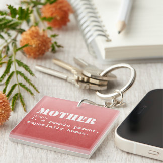 Mother Definition- Mother's Day Keychain
