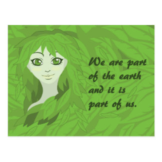 Mother Earth (Awake) Postcard