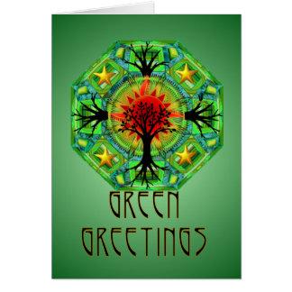 Mother Earth Blank Card