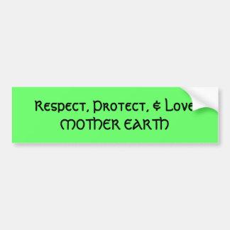 Mother Earth - Bumper Sticker Car Bumper Sticker