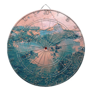 Mother Earth Dartboard With Darts