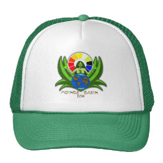 Mother Earth day Mesh Hats