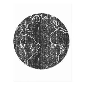 Mother Earth distressed Postcard