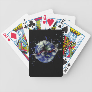 Mother Earth Explosion Bicycle Playing Cards