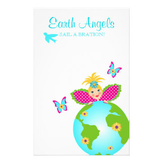 Mother Earth Fairy World Globe Travel Flyer