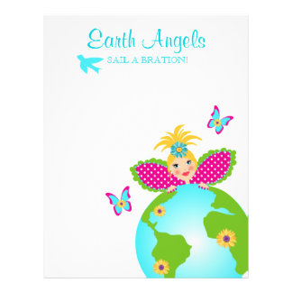 Mother Earth Fairy World Globe Travel Flyer LG