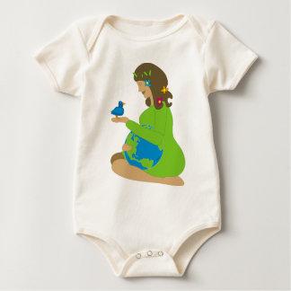 Mother Earth (Gaia) Baby Bodysuit